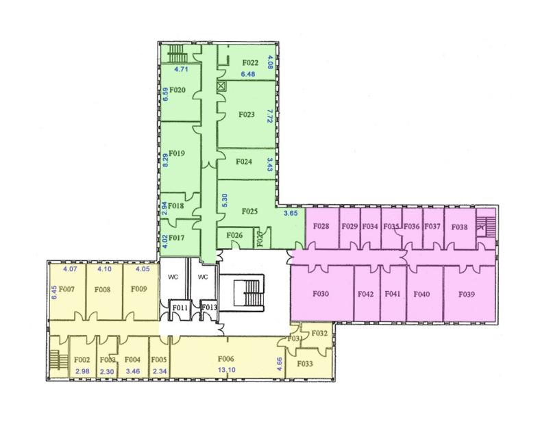 Floor Plan - dimensions