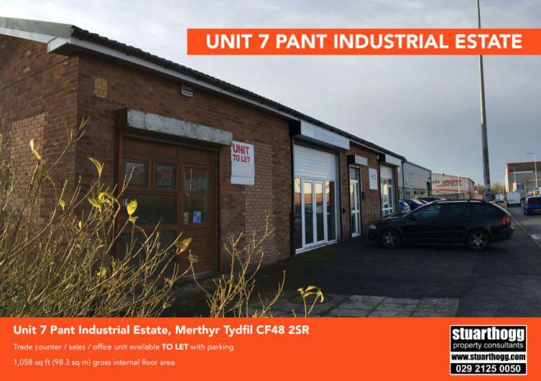 Merthyr Tydfil Unit 7 Pant Industrial Estate 1 058 Sq