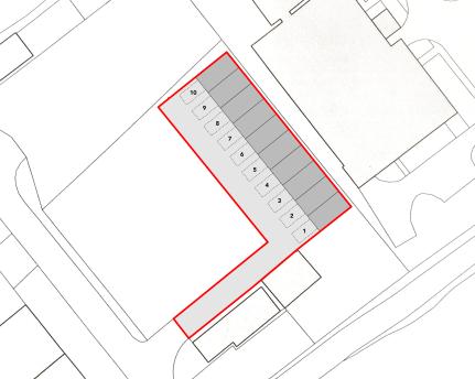 Penyfan Business Park - storage units PLAN